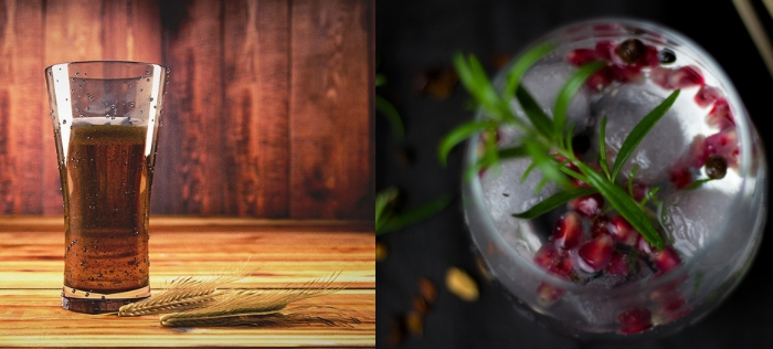 Scotlandhour craft beer and gin