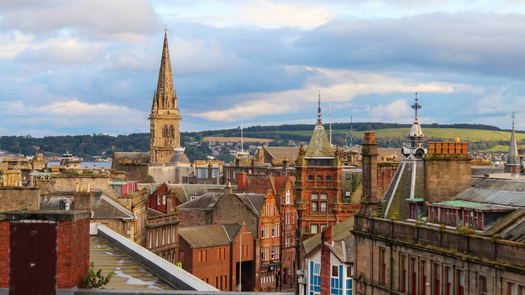 Scottish Cities and Towns ScotlandHour chat 25th August 2021 Phots of the City of Dundee